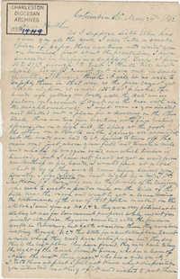 222. John Lynch to Bp Patrick Lynch -- May 29, 1862
