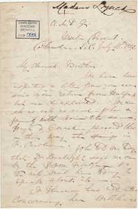 230. Madame Baptiste to Bp Patrick Lynch -- July 11, 1862
