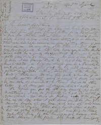 350. Madame Baptiste to Bp Patrick Lynch -- March 7, 1864
