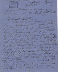 351. Madame Baptiste to Bp Patrick Lynch -- March 10, 1864