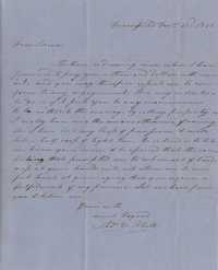 149. Thomas M. Rhett to James B. Heyward -- December 22, 1856
