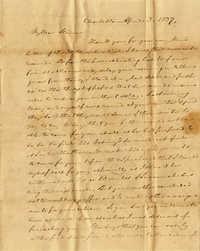 018. C.G. Memminger to Anna Wilkinson -- April 3, 1837