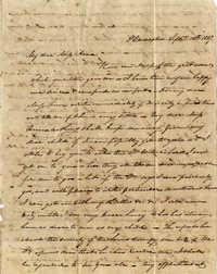 013. Unknown writer to Anna Wilkinson -- September 10, 1827