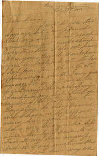 091. Willis Keith to Anna Bell Keith -- July 19, 1863