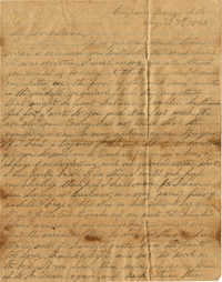 094. Willis Keith to Anna Bell Keith -- August 9, 1863