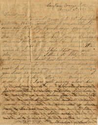 093. Willis Keith to Anna Bell Keith -- August 4, 1863