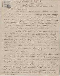 180. Bp Patrick Lynch to Francis Lynch -- November 13, 1861