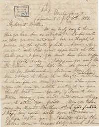 283. Madame Baptiste to Bp Patrick Lynch -- July 11, 1863