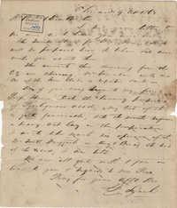 276. Francis Lynch to Bp Patrick Lynch -- April 9, 1863