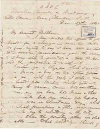 376. Madame Baptiste to Bp Patrick Lynch -- December 27, 1865