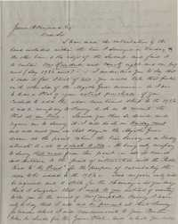 128. Richard Bacot to James B. Heyward -- April 25, 1852