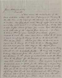 128. Richard Bacot to James B. Heyward -- April 25, 1852