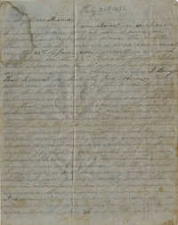 061. Willis Keith to Anna Bell Keith -- July 20, 1862
