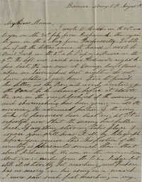 065. Willis Keith to Anna Bell Keith -- August 8, 1862
