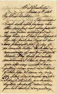 096. John Keith to Magdelen Keith -- June 19, 1863