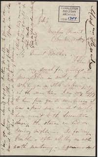 050. Madame Baptiste to Bp Patrick Lynch -- May 16, 1859