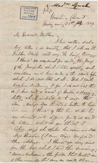 058. Madame Baptiste to Bp Patrick Lynch -- June 28, 1859