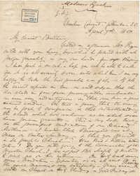 275. Madame Baptiste to Bp Patrick Lynch -- April 9, 1863