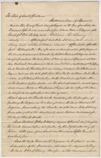 254. Memorandum between Thomas B. Ferguson and William McBurney -- August 23, 1865