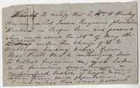 239. Note of Overseer at Ferguson's Dockon plantation -- June 23, 1865