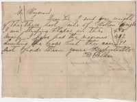 228. R. Felker to Mr. Heyward -- ca. 1865