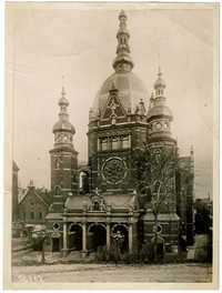 [Synagogue in Danzig]