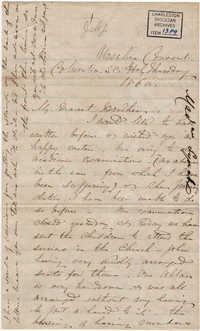 100. Madame Baptiste to Bp Patrick Lynch -- April 5, 1860