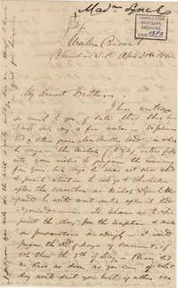 103. Madame Baptiste to Bp Patrick Lynch -- April 21, 1860