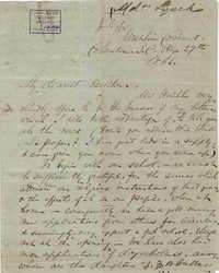 238. Madame Baptiste to Bp Patrick Lynch -- August 29, 1862