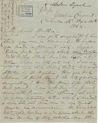 241. Madame Baptiste to Bp Patrick Lynch -- September 10, 1862