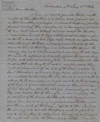 341. John Lynch to Bp Patrick Lynch -- January 18, 1864