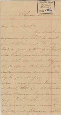 335. Anna Lynch to Bp Patrick Lynch -- 1864