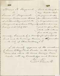 326. Bond between Maria Heyward and James B. Heyward -- March 22, 1877