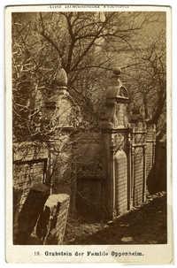 Grabstein der Familie Oppenheim