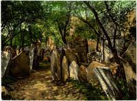 Praha, Starý hřbitov židovský / Prag, der Alte Judenfriedhof