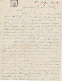 249. John Lynch to Bp Patrick Lynch -- November 20, 1862