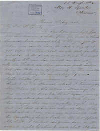 235. Henrietta Lynch to Bp Patrick Lynch -- August 15, 1862
