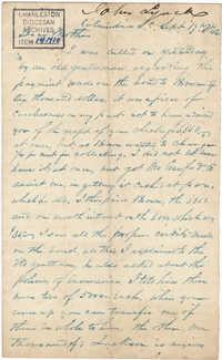 244. John Lynch to Bp Patrick Lynch -- September 17, 1862