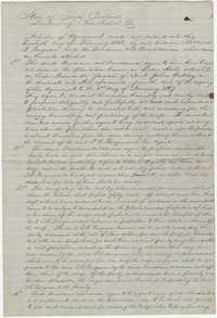272. Agreement between Thomas B. Ferguson and Freedmen -- February 20, 1866