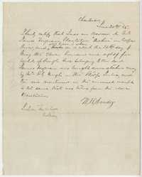 238. Note of rough rice taken from James Ferguson' s plantation -- June 20, 1865