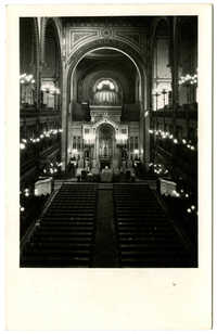 [Dohány Street Synagogue, Budapest]