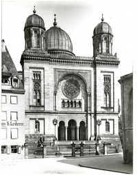 [Nuremberg, La Synagogue]