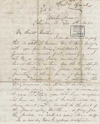 025. Madame Baptiste to Bp Patrick Lynch -- December 4, 1858