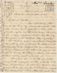 201. Madame Baptiste to Bp Patrick Lynch -- January 26, 1862