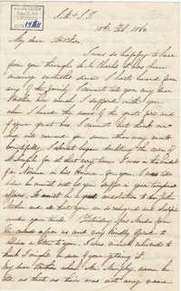 202. Madame Antonia to Bp Patrick Lynch -- February 13, 1862