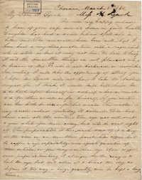 207. Henrietta Lynch to Bp Patrick Lynch -- March 8, 1862