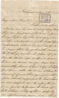 189. Anna Lynch to Bp Patrick Lynch -- December 14, 1861