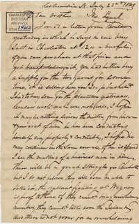 288. John Lynch to Bp Patrick Lynch -- July 23, 1863