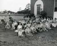 Summer reading closing exercises, Cooper River Memorial Library, 1956 (2)