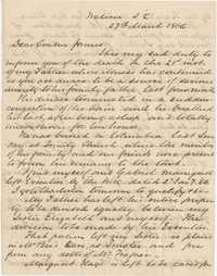 378. E. Barnwell Heyward to James B. Heyward -- March 27, 1866